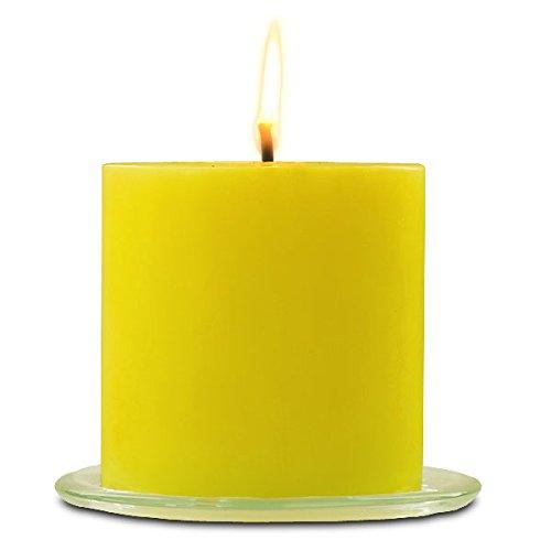 Outdoor Citronella Pillar Candle, 6