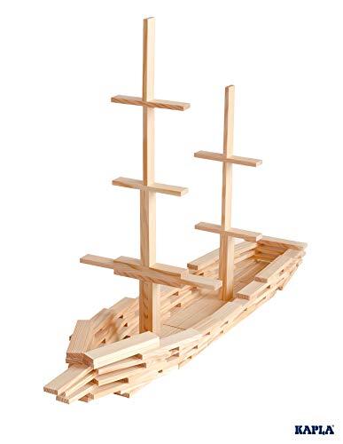 KAPLA-Holzbaukasten 200 Steine - 6