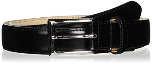 [ミカド] ベルト メンズ コードバン 日本製 MKB0180119 ブラック 日本 ウェスト95cmまで対応 (FREE サイズ)