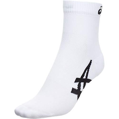 ASICS 2PPK 1000Series Ankle Socke XL Real White