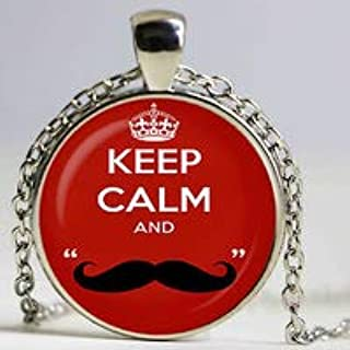 keep calm and love moustache