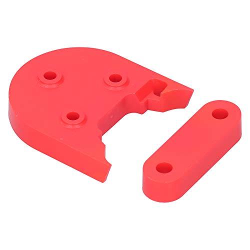 FECAMOS Hecho de plástico ABS Scooter Guardabarros Espaciador Scooter eléctrico Junta de Guardabarros Adecuado para Todas Las Series de para Scooters eléctricos Xiaomi M365 / 1S / Pro / PRO2(Red)