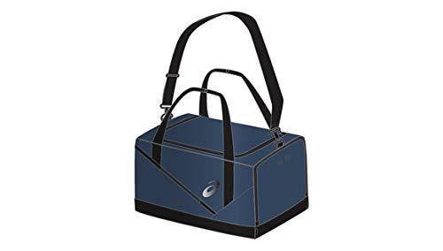 Asics - Bolsa de deporte (tamaño mediano), color INDIGO BLUE/BLACK, tamaño talla única