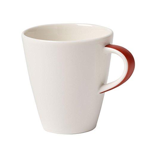Villeroy & Boch Caffè Club Uni Oak Mokka-/Espressotasse, 100 ml, Premium Porzellan, Kupfer