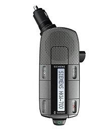 Siemens Car Kit Bluetooth Portable, Portable Kfz-Freisprecheinrichtung HKW-700 für S55, S65,SP65,SK65