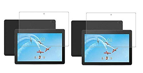 Colorcase Tablet Tempered Glass Screenguard Screen Protector for Lenovo Tab M10 X605L (10.1) - {Transparent} - (Pack of 2)