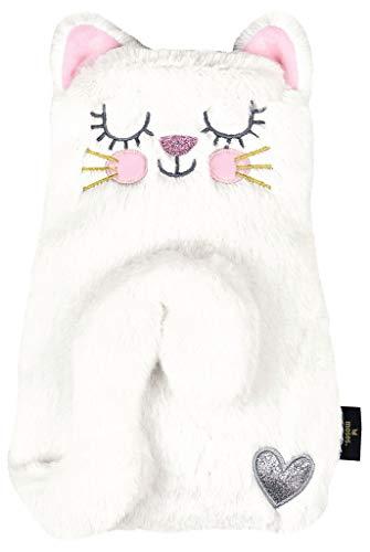 Ed, the Cat Wärmflasche Kitty | Zum Kuscheln und Entspannen | In einer Geschenkbox | In Weiß
