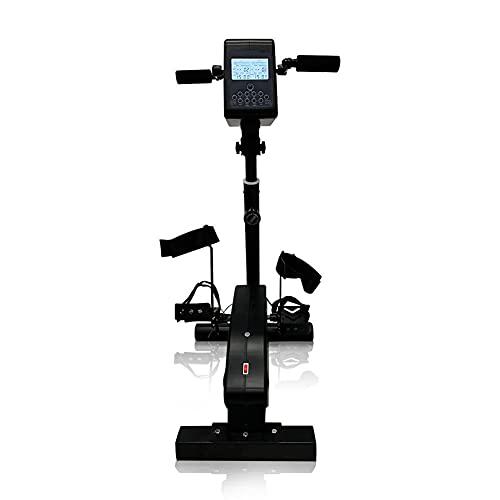 DYHQQ Bicicleta de rehabilitación de Fisioterapia electrónica para Personas Mayores reclinadas, Entrenamiento de Ejercicios de Pedales para discapacitados, Carrera de 180 W para discapacitados