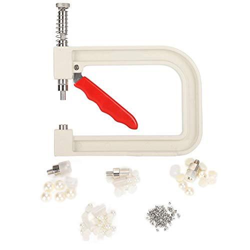 Macchina per incastonatura di perle Perline Perline Strumenti di fissaggio per rivetti Articoli fatti a mano Accessori per abbigliamento Accurato per perline semicerchio fai-da-te