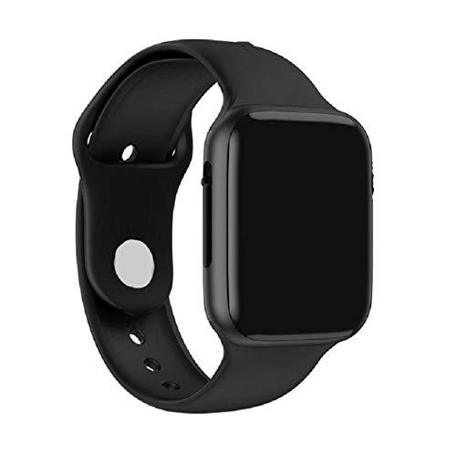 NUNGBE Relojes Inteligentes Relojes Inteligentes para Hombres y Mujeres, Monitor de Ritmo cardíaco ECG Monitor de Actividad de Moda para Apple iOS Android-Pinkish_Grey