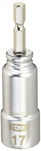 トネ(TONE) 電動ドリル用コンパクトソケット 2BN-17C ビット差込 二面幅17mm