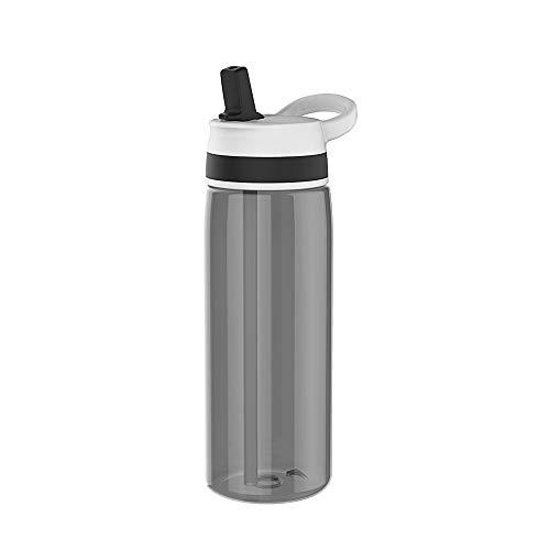 ZAK Sprint - Botella con pajita (75 cl), color negro
