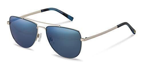 Rodenstock Sonnenbrille Youngline Sun RR105 (Herren), leichte Sonnenbrille im Casual-Stil, Pilotenbrille mit Edelstahlgestell