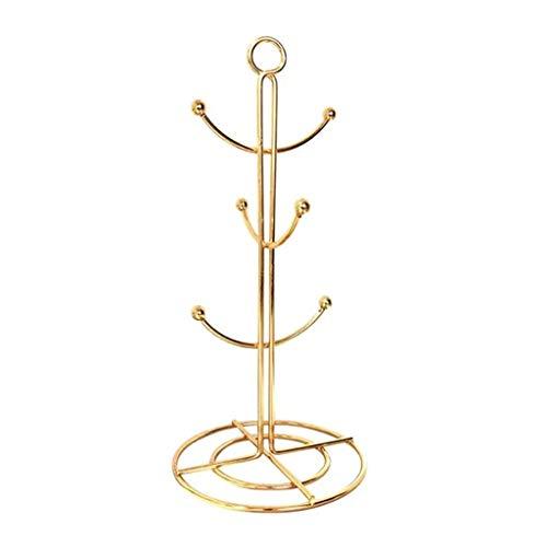 ZHUSHI. Halskette Armband Kaffee Tassenhalter Halskette Armband Halter Esstisch Küche Lagerregal Baum Cup Holder Hanging Drain Tassenhalter