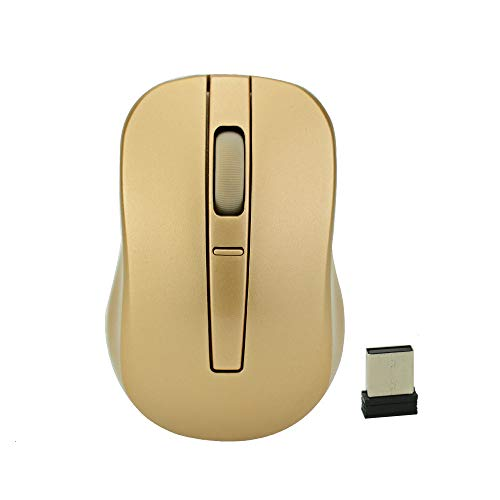 Wireless Mini Portable Computer Mouse Ergonomic Usb Optical Mause Small Silent Gold PC Mice For Home/Office Laptop Macbook