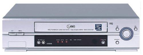 LG LV-2285 - Videoregistratore singolo, colore: argento