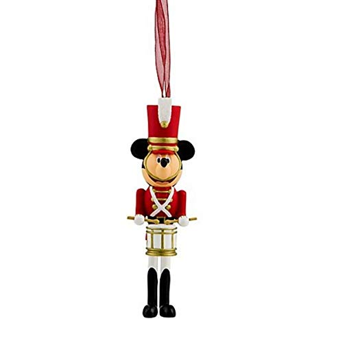 Disneyland Paris Mickey Mouse Nutcracker Hanging Ornament