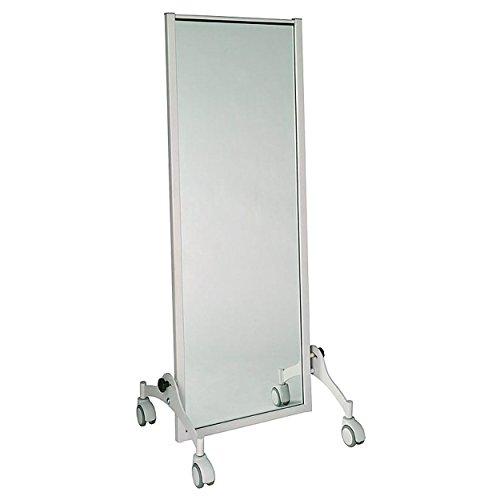 Therapiespiegel Exklusiv, Standspiegel, Spiegel Physiotherapie 145x52 cm fahrbar