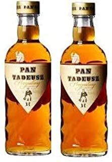 2 Flaschen Pan Tadeusz Przepalany a 0,5l 40% vol.