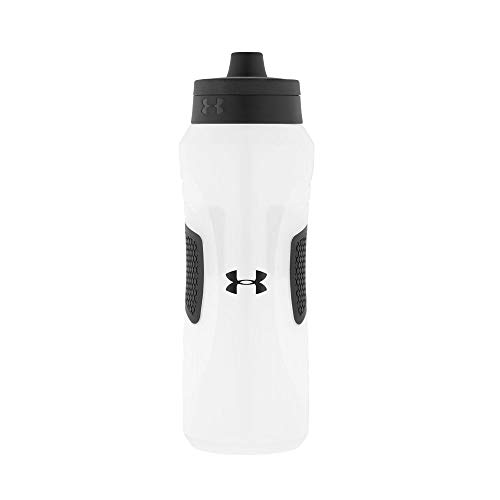 Under Armour Undeniable Squeeze Bottle with Quick Shot Lid, Clear, 32...
