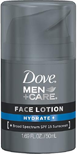 Dove Men+Care Face Lotion, Hydrate 1.69 oz (6 Pack)