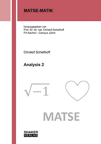 Analysis 2 (MATSE-MATHIK)