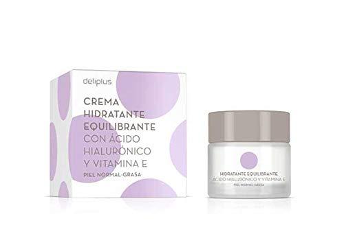 Crema Hidratante Equilibrante con Acido Hialurónico y Vitamine E 50 ml