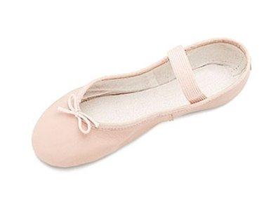 Bloch Ballettschläppchen Arise in Leder - Rosa Gr. 32 EU (1 UK)