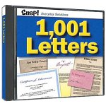 SNAP! 1,001 Essential Letters (Jewel Case)