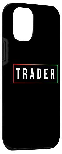 31H6ScOJxeL - iPhone 12/12 Pro Minimal Simple Day Trader Trading Stock Market Gift Case