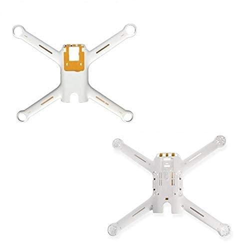 per Xiaomi Mi Drone RC Quadcopter Pezzo di Ricambio 4K Versione up Guscio Inferiore Guscio Inferiore Set Carrello di atterraggio Accessori Quadricotteri (Colore: 1 Set carrozzeria)