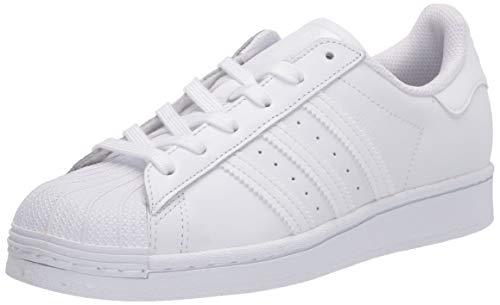 adidas Originals Women's Superstar Sneaker, White/White/White
