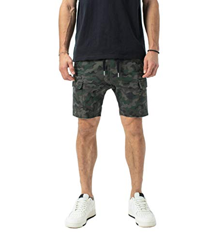 Zanerobe Men's Sureshot Lite Cargo Short, Dark camo, 30