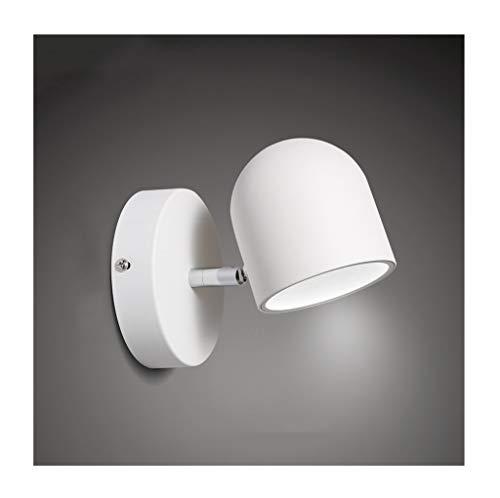 *applique murale interieur Applique murale simple en fer forgé à LED éclairage Chambre (Couleur : Blanc-Lumière blanche)
