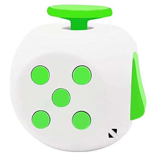 Honmofun Fidget Cube for Teen Fidget Cube ADHD Fidget Cube Fidget Twisty Cube (Green)