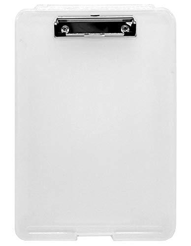 Idena 10870 - Klemmbrett-Box weiß, 1 Stück