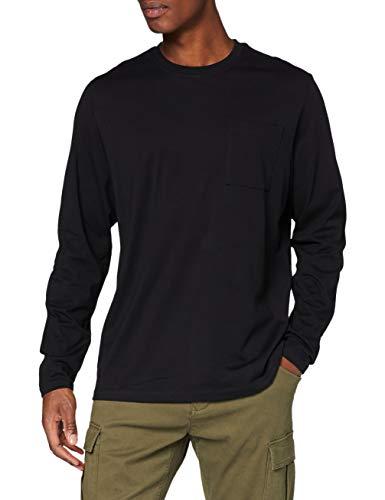 edc by ESPRIT Herren 990CC2K308 T-Shirt, 001/BLACK, M
