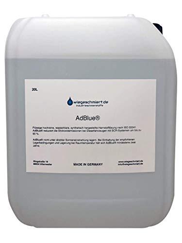 Knaus Schmierstoffe 20 Liter AdBlue/Zusatz zur Abgasreinigung für PKW und LKW 20L Hoyer