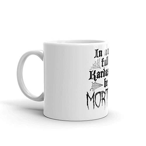 Lsjuee Be A Morticia. Las tazas de 11 onzas son el regalo perfecto para todos. Tazas de café clásicas de 11 onzas, asa en C y construcción de cerámica