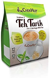 3 Pack Chek Hup Teh Tarik 3 in 1 Milk Tea Imported from Malaysia- Free Express Delivery