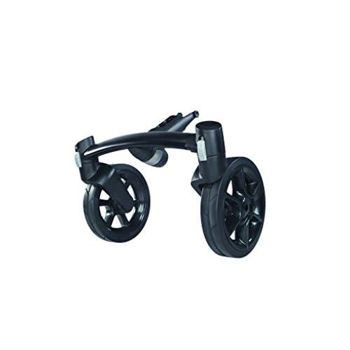 Quinny 77300080 - Forcella anteriore 4 ruote per passeggino Mood, nero