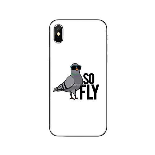 Linda Pigeon Bird Accesorios Funda para iPhone 12 Mini 11 Pro Max XS Max XR X 8 7 Plus 6 6S Plus 5 5S SE 2020-Lindo-Pigeon-E-01-Para iPhone 11pro Max