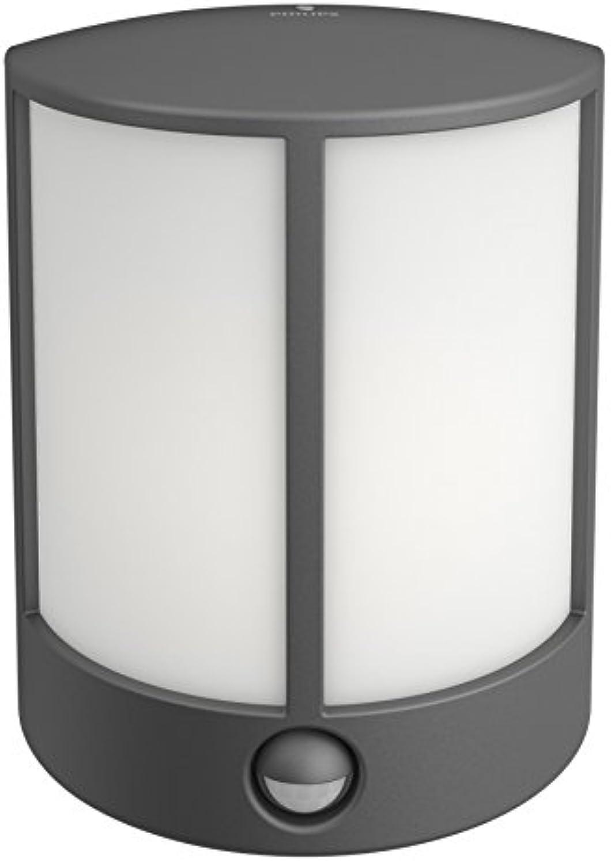 Philips LED-Auenleuchte, Kunststoff, Lumière Weiß froid, Applique