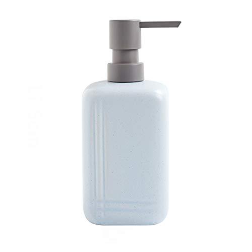 Dispensador automático de desinfectante Dispensador de jabón cerámico Durable Dispensador de jabón líquido fácil de limpiar para baño y encimeras de cocina 300 / 450ml Dispensador de jabón
