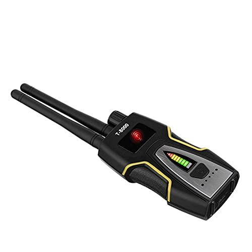 juqingshanghang1 Detectores de Radar Doble Modo RF Detector de Errores Anti-Spy Hidden Cámara G-S-M Audio Bug Finder RF Signal Radio GPS Rastreador Detectar Producto inalámbrico (Negro) Alertas