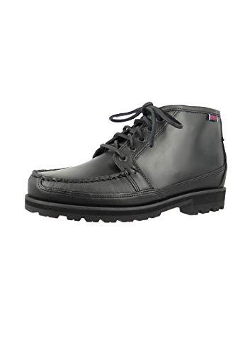 Sebago Vershire Mens Chukka Boot UK10 EU44.5 US10.5 Black Oiled Waxy