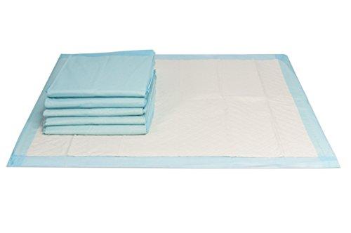 VIDIMA Inkontinenzunterlage 60 x 60 cm | 150 Stück | 6 lagige saugstarke Einmal Krankenunterlage aus Zellstoff | unterverpackte Bettunterlage für Inkontinenz & Blasenschwäche | ideal für Krankenhäuser