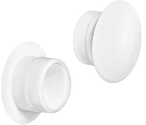 Bouchon pour tuyau carr/é 45x45 gris plastique Embout bouchons dobturation 5 pcs