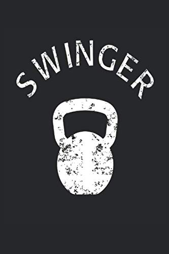 Swinger: Kettlebell Fitness Tracking Notebook I Notizbuch I Suivi de la condition physique I Seguimi