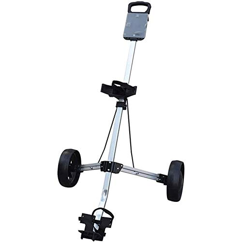 SJB Golf Trolley Manuelle Push/Pull Golf Cart zweirädrigen Push Cart Faltbare Kugel Charter Golf Golf Cart